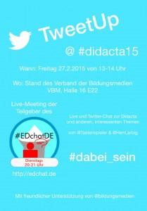 #EDchatDE TweetUp via @Ines_MueVo